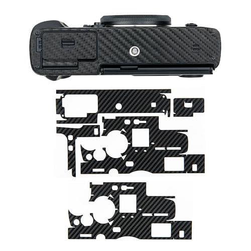 Film Protection Anti-Rayures Pour La Peau Fujifilm X-Pro3 En Fibre De Carbone